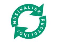 Musikalisk recycling logo