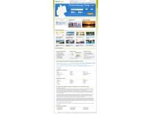 Die Startseite der BestFewo-Plattform vor dem Relaunch in 2015