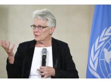 Margareta Wahlström, svensk tjänsteman inom FN