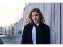Mathilde Nyegaard, student i musik- och medieproduktion på Kungl. Musikhögskolan (KMH) som medverkar i Artify the Music 2019. Foto:  Anna Cæcilie Majholm.