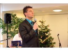 Centerchef Jesper Westphal byder velkommen til julefrokosten