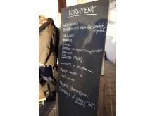 Gastronomiskt Forum korvmeny
