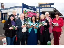 ON TRACK: Rochdale Borough Libraries will again be handing out books on the Mills Hill to Todmorden train line for World Book Night