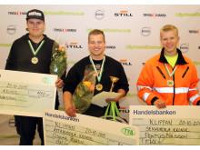 Dagens vinnare från kvaltävlingen i Klippan