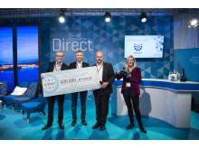 Unibap tar emot priset på Subcontractor Jumpstart