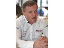 Tommi Mäkinen, numera stallchef för Toyota Gazoo Racings satsning i rally-VM