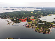 Flytgfoto, planområde Arkösund