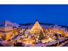 Lichterglanz auf dem Weihnachtsmarkt in Grimma