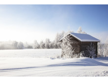 Vinter i Dalarna