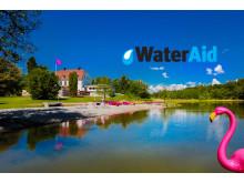 Happy Tammsvik inleder samarbete med WaterAid
