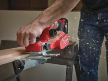 Milwaukee M18 BP batteridrevet høvel