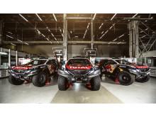 Team Peugeot Total och Peugeot 2008 DKR är redo för världens tuffaste rally, Paris-Dakar.