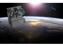 Från omloppsbana kommer Siw att studera vindarna i de övre delarna av jordens atmosfär.