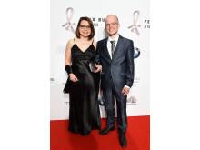 Ehrenfelix-Preisträger Benni Wollmershäuser mit Ehefrau Sabrina