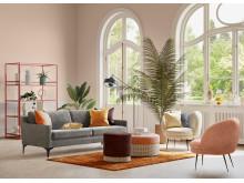 Astha 3 seater sofa