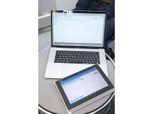 E-plattan kan ge nyopererade barn och föräldrar stöd i hemmet.