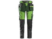 6940 Flexiwork, stretch bukse, grønn