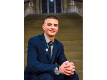 Leon Hollinrake is taking part in the annual UK Youth Parliament Make Your Mark ballot