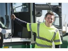 Truckförare på Derome Byggvaror