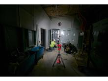 Milwaukee Trueview arbeidsbelysning