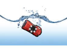 Ricoh WG-20 rød i vann