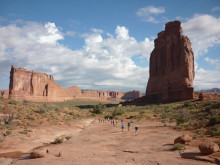 Ramblers Walking holiday in the heart of America's Canyonlands