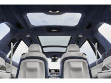 BMW X7 - tredelt panoramaglastag