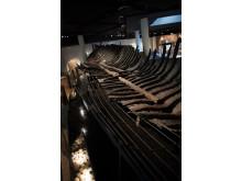 Riddarholmsskeppet så som det hittills tolkats, i Medeltidsmuseets utställning., lågupplöst.