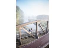 Die Ruhrbrücke in Wickede