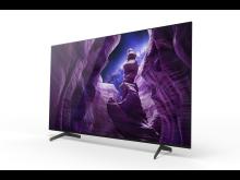 PR_Novos televisores OLED 4K HDR A8 já nas lojas