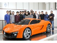 Hyundais designkoncept PassoCorto är skapad av studenter
