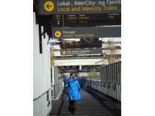 Togstasjon ved Oslo Lufthavn