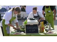 Kockduell mellan Ulrika Brydling och lokal kock