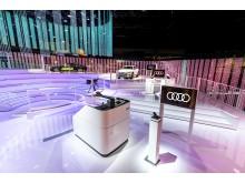 Audis stand på CES 2019
