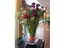 Bukett av Sofie Danielsson, Interflora Fresh Floristkompaniet i Stockholm.