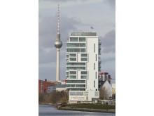 LIVING LEVELS - Luxuswohnen neben der Mercedes-Benz-Arena (ein weiteres Erfolgsprojekt mit EuroLam-Lamellenfenstern)