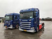 To specielle Scania til Vognmand fra Fyn