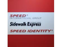 Profilskylt Speed & Sidewalk Express