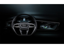 Audi h-tron quattro display