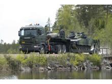 Scania med i sidste runde af Forsvarets lastbiludbud