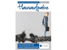 """""""Hausaufgabe"""", das neue Magazin mit News, Trend und Tipps für Immobilienbesitzer"""