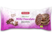 Friggs maiskaker med melkesjokolade - produktbilde