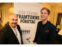 Christian Söderberg, Åkroken Business Incubator och Tommy Eriksson, Ånge Kommun
