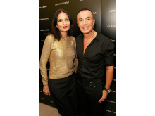 The Julien Macdonald eyewear launch party at Vision Express, Oxford Street East