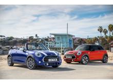 MINI Cooper S Cabrio og MINI Cooper S 3-dørs