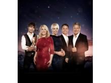 Stille natt Hellige natt 2016 _ Fra venstre: Alexander Rybak, Maria Haukaas Mittet, Marian Aas Hansen, Hans Petter Moen og Rune Larsen.