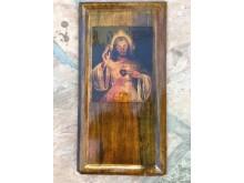Peter Stormares hemmabyggda Jesusikon