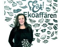 Pernilla Hellberg och medarbetare på Eat! Ekoaffären välkomnar alla till temadagen: Ät dig frisk!  Fri entré