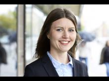 Johanna Wikander, hållbarhetschef på Stockholmshem