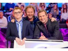 Axel Isaksson, Sören Olsson och Rickard Sjöberg